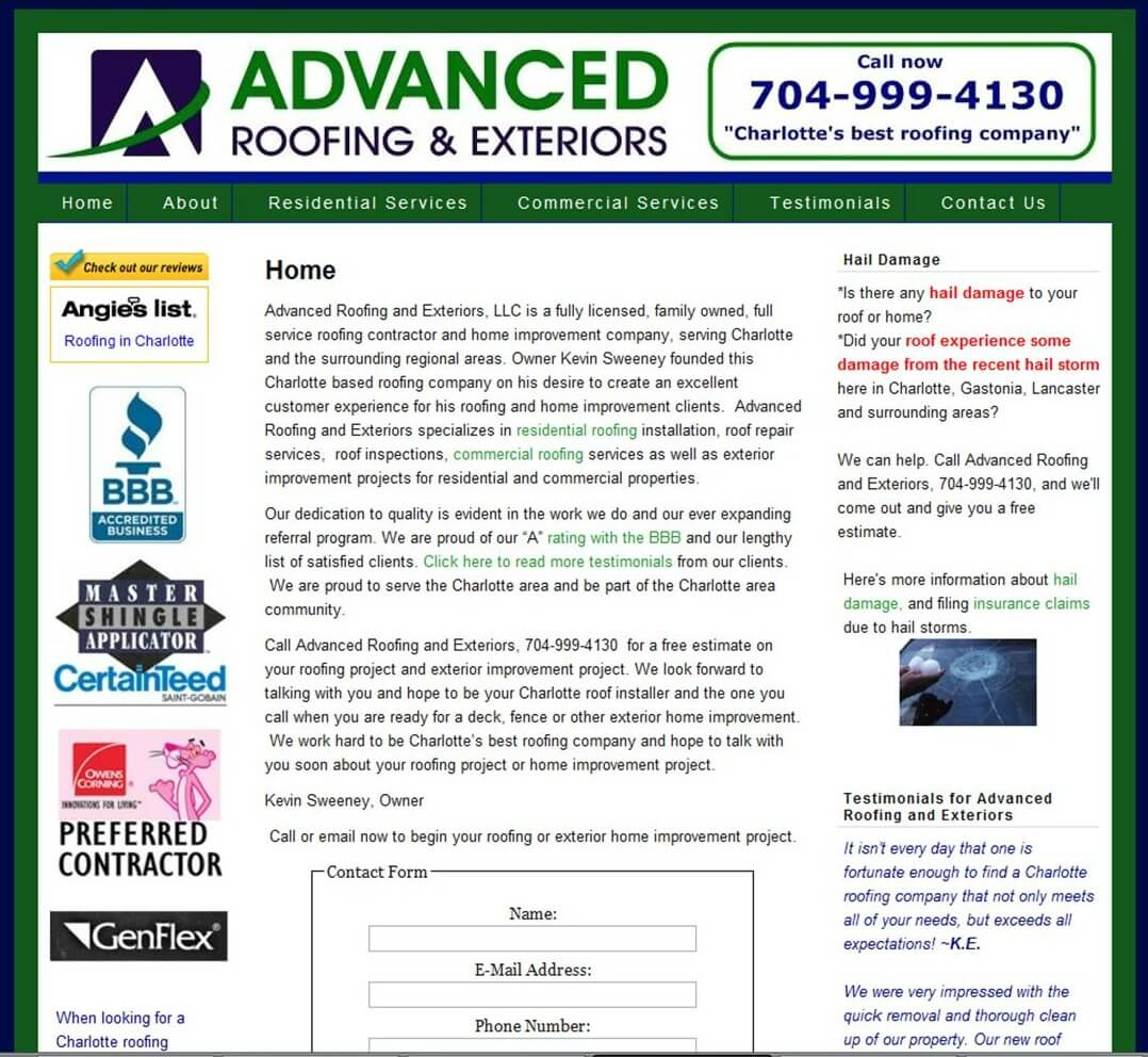 News Advance Roofing