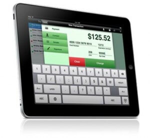 Process credit cards on your iPad