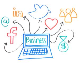 Social media for online success